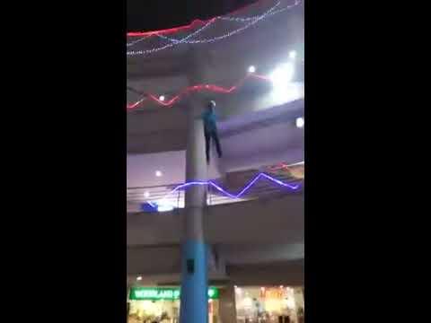 Hanging boy