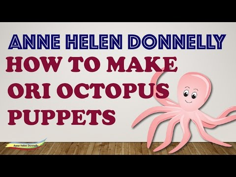 How to make Ori the Octopus Puppets