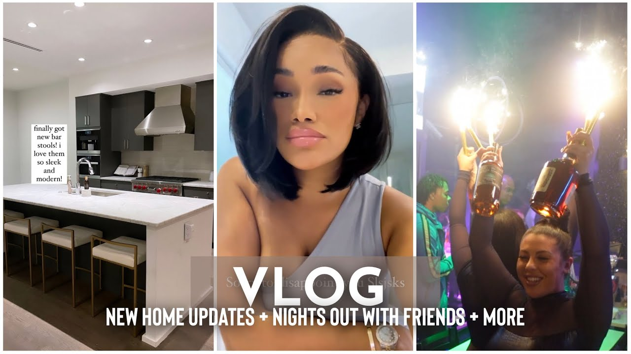 WEEKLY VLOG | NEW HOME UPDATES + NIGHT OUT W/ FRIENDS + I KEEP SPENDING MONEY + MORE | ALLYIAHSFACE