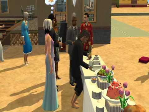 Sims 2 Cake Wedding