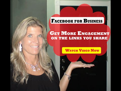 Get More Engagement on your links in Facebook by following this tip