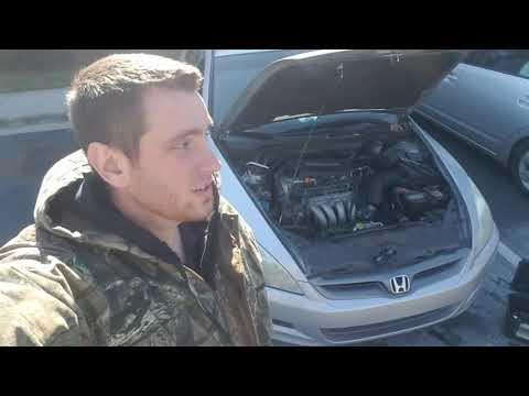Honda Acura 2.4 Liter Starter Replacement