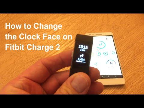 How to Change the Clock Face on a Fitbit Charge 2