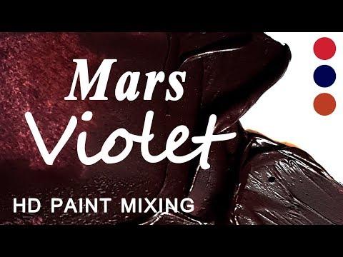 HD Paint Mixing - 'Mars Violet' Colour
