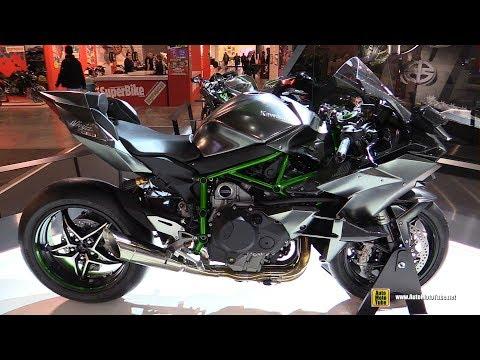 2018 Kawasaki Ninja H2 R - Walkaround - 2017 EICMA Milan Motorcycle Exhibition