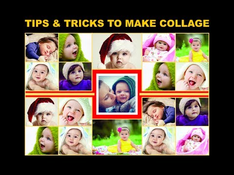 Coreldraw tutorials - how to create innovative baby collage tips & tricks