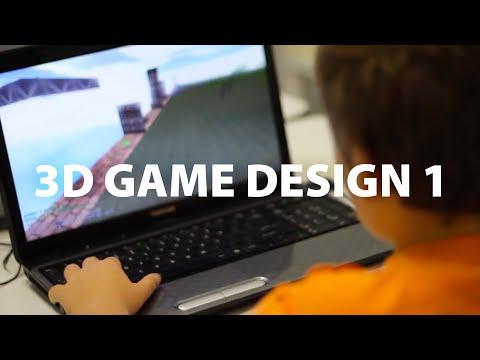 Youth Digital 3D Game Design 1 for Kids