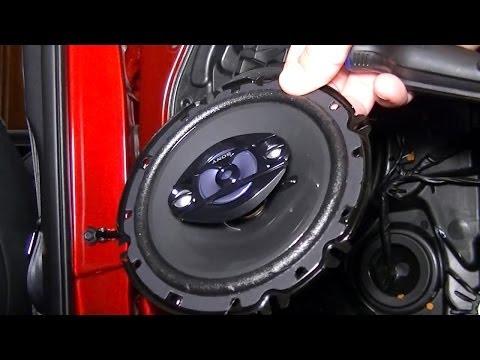 How To Replace Front Door Speakers Holden VE SSV .mov