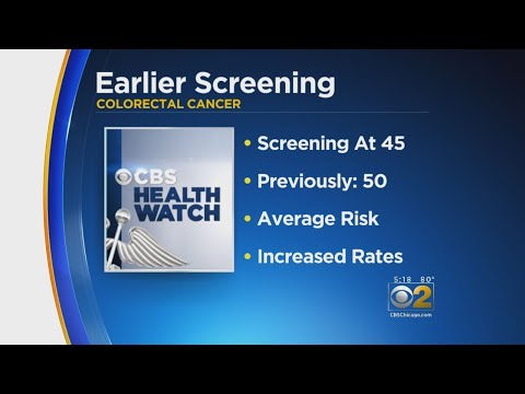 Earlier Screenings Recommended For Colon Cancer