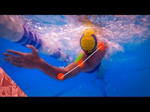 Backstroke swimming technique | Rotation | Swim faster