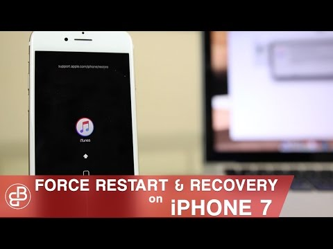 iPhone 7: How to Fix Black Screen | Force Restart, Recovery Mode & DFU Mode!
