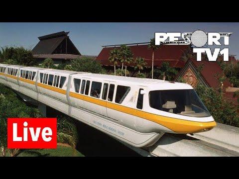 Magic Kingdom Resorts Live Stream - 5-25-18 - Walt Disney World