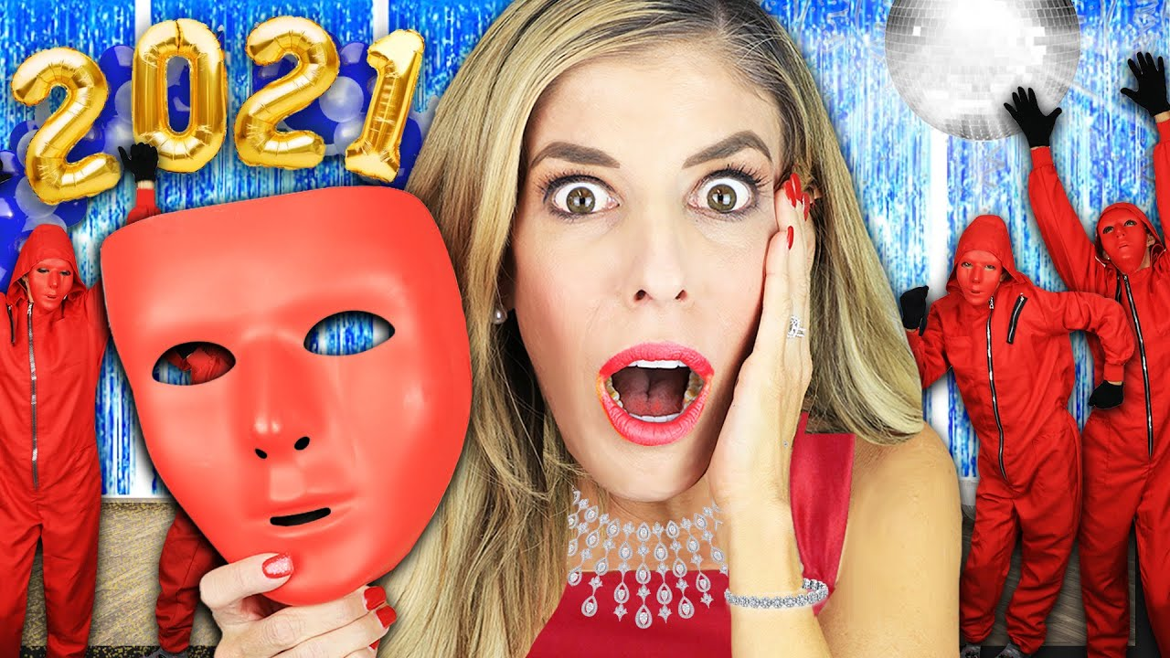 Giant Home Alone Party in Real Life to Save Best Friends - Rebecca Zamolo