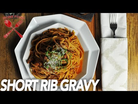 Short Rib Gravy - Isobe Food