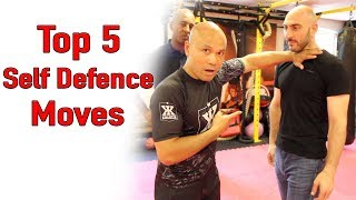 Top 5 self defence moves wing chun