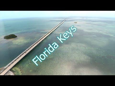 Florida Keys: Overseas Hywy & 7 Mile Bridge Aerial