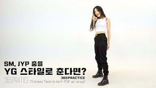 Download SM, JYP 춤을 YG 스타일로 춘다면? @365 Practice Video