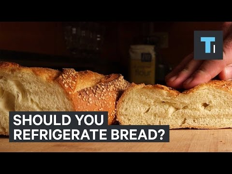 Should you refrigerate bread?