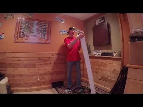 New Sierra Stunt Snowboard! Unboxing