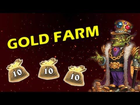 Hearthstone Fast Gold Farming in the Tavern Brawl