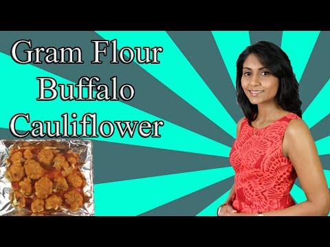 Gram Flour (Besan Flour) Buffalo Cauliflower