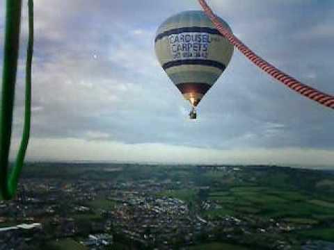 Ikea Cloudhopper flight from Bristol Balloon Fiesta 2005.
