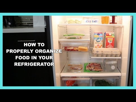 How to Properly Organize Your Refrigerator to Keep Food Fresh | DIY IRL