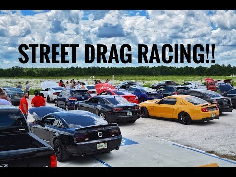 WILDEST STREET DRAG RACING CRUISE!!!