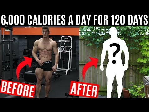 I ate 6,000 CALORIES A DAY for 120 DAYS and this is what happened...