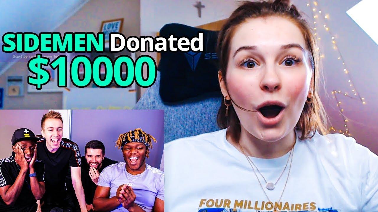 SIDEMEN DONATE $10,000 TO TWITCH STREAMERS