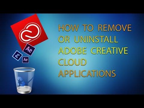 How To Uninstall Adobe Creative Cloud