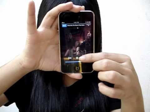 How to sync Music Video on IPOD Touch or IPHONE