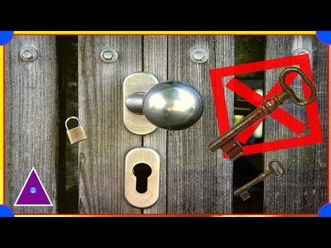 How to Open Locked Door Without Keys
