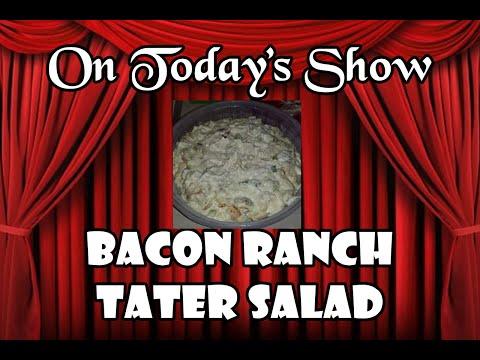 Bacon Ranch Tater Salad