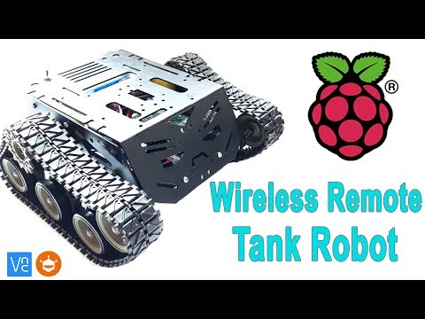 How To Wireless Control Raspberry Pi Tank