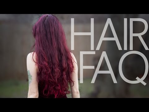 Hair FAQ | Henna, Dye, Tips for Growing Long Hair