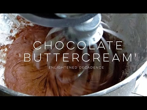 BEST Chocolate Buttercream (vegan)| THE SIMPLE GREEN