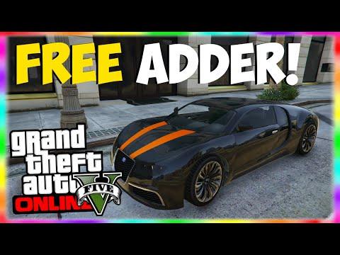 GTA 5 Rare Cars: FREE ADDER!