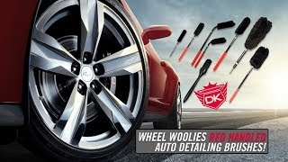 Wheel Woolies w/RED GRIPS from Detail King
