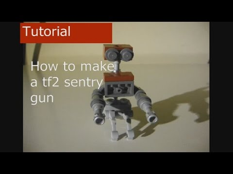 How to make a lego tf2 sentry gun(tutorial)