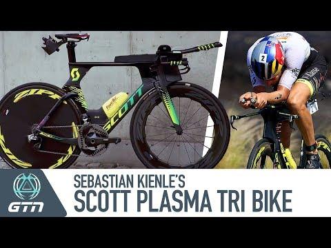 Sebastian Kienle's Scott Plasma 5 Pro Triathlon Bike