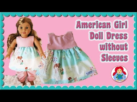 How to   Doll Dress for 18