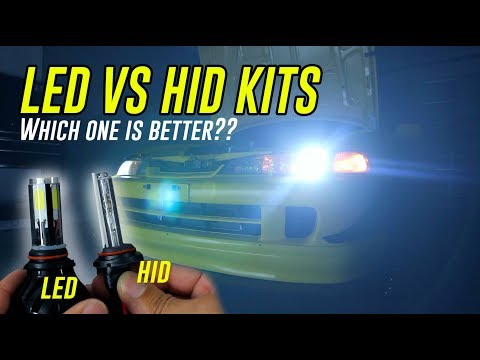 LED vs HID KITS - Install & Review