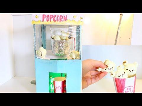 DIY Squishy Popcorn Machine