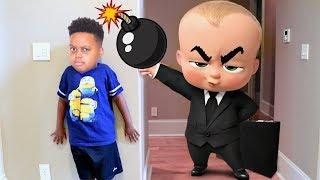 BOSS BABY vs Bad Baby Shiloh! - Shasha and Shiloh - Onyx Kids