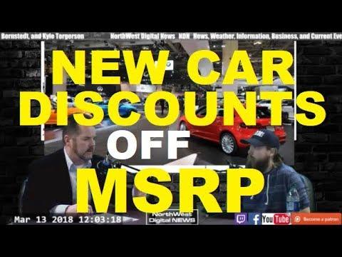 BIG DISCOUNTS off MSRP at a Car Dealer - Auto, Vehicle, Dealership advice