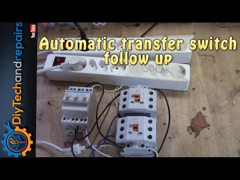 Automatic transfer switch followup up - Lets hook it up once more