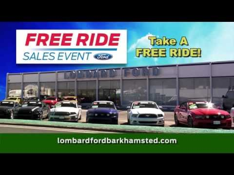 Lombard Ford Free Ride August 2015 AD