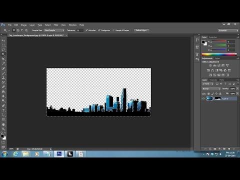 Make Background Transparent in Photoshop CS6