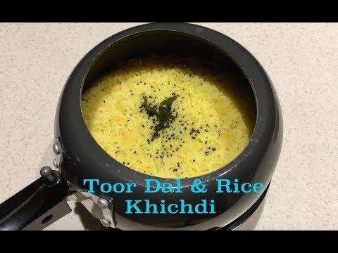 Toor Dal & Rice Khichdi- Pigeon Peas & Rice Khichdi-Ultimate Comfort food.